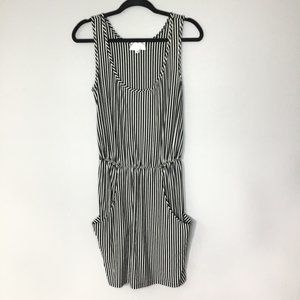Anthropologie Corey Lynn Calter pinstripe dress